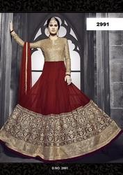Embroidery Anarkali Suits