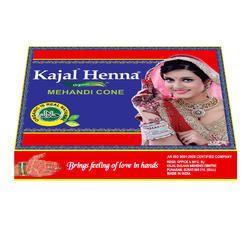 Kajal Henna Mehandi Cone Golden Wrapper