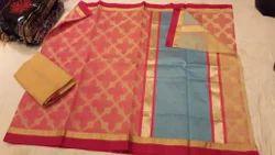 Kora Silk Designer Saree