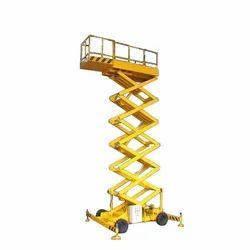 Scissor Lift With Extendable Platform