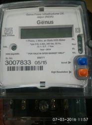 Single Phase Meters Genus Make