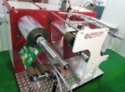 Rewinder Machine for Barcode Printing Machine