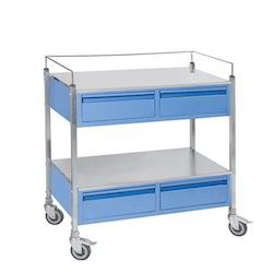 Medicine Trolley with Four Drawers