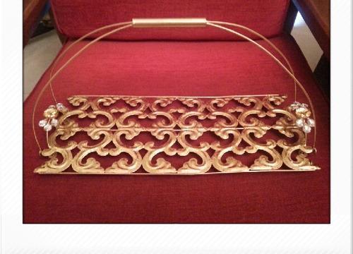 Metal Gift Hamper Basket