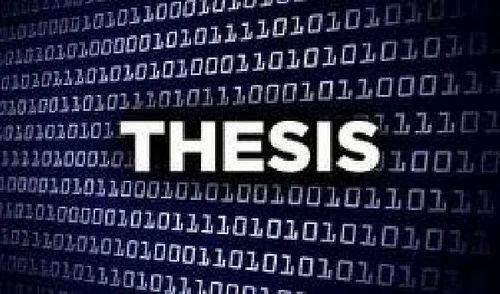 Thesis writing service chennai