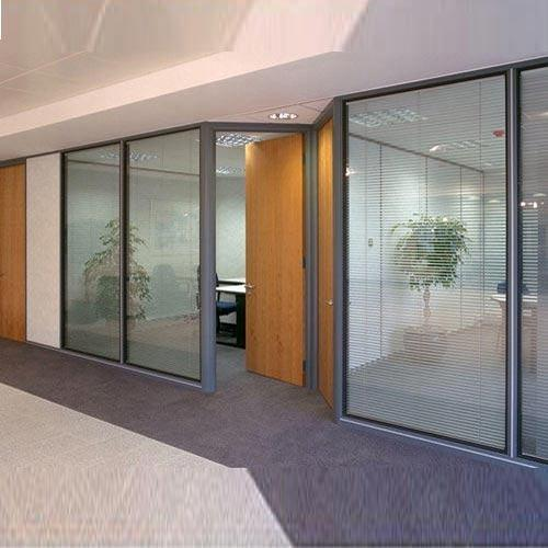 Interior Partitions interior glasses - glass partitions manufacturer from noida