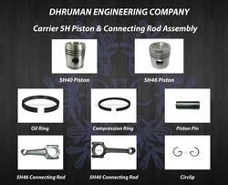 Carrier 5H Piston and Connecting Rod Assembly