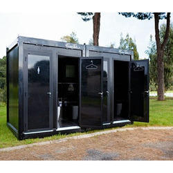 Portable toilets luxury portables toilets manufacturer for Deluxe portable bathrooms