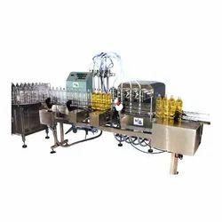 Liquid Disinfectants Filling Machine