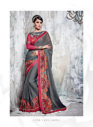 Georgette Party Wear Trendy Designer Fashionable Sarees