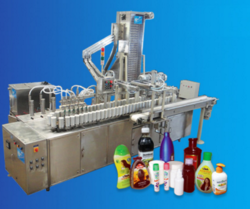 Plastic Bottle Filling and Capping Machine