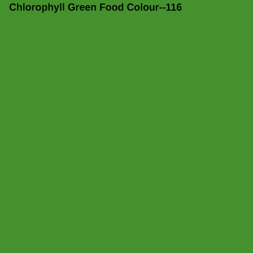 Chlorophyll Green Food Colour