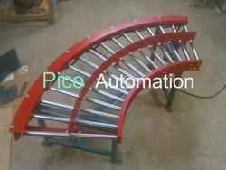 Powered Turn Roller Conveyor