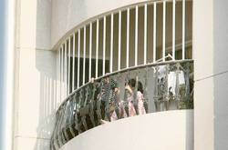 Balcony grills balcony grills manufacturer supplier for Balcony safety grill designs