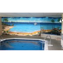 Swimming Pool Murial Tile
