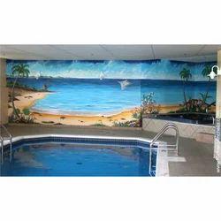 Swimming Pool Murial Tile