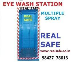 Eye Wash Station Multiple Spray