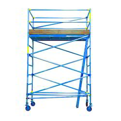 Double Width Tower Scaffold With Stair On Rental