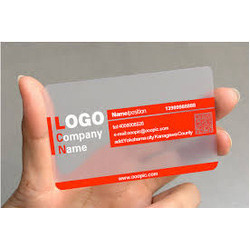 Cards Printing Services Transparent Visiting Cards Printing