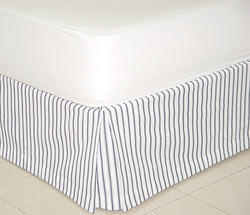 Striped Bed Skirt