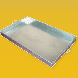 Mortar Mixing Tray -2.5 x 1.5