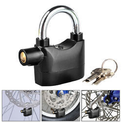 Kawachi Security Padlock Siren Alarm Lock Shock Sensor