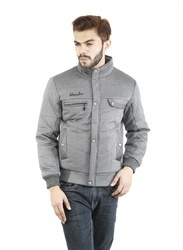 gray men jacket