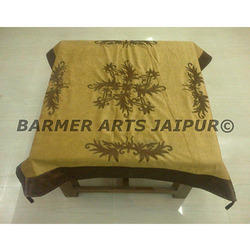 Designer Table Cover Velvet Embroidery
