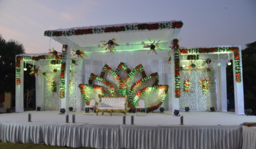 Mandap wedding stage service provider from rajkot wedding stage junglespirit Image collections