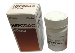 Daclatasvir 60 mg HepCdac Tablets Price & Details