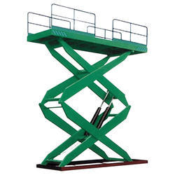 Double Scissor Lift Platform