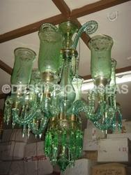 Light Green Chandelier