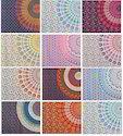 Twin Mandala Tapestry Cotton Bedspread TP2