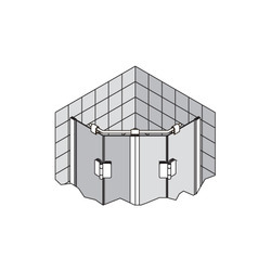 Pentagonal Support Bar 12 mm dia