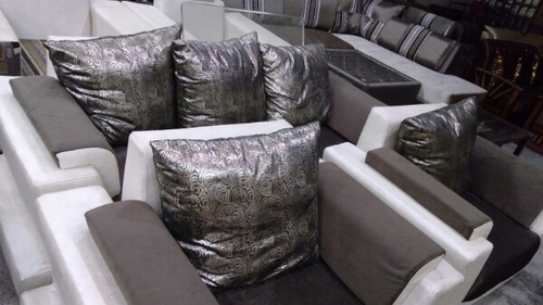 Black White Sofa Set