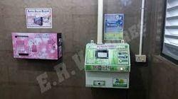 Feminine Hygiene Sanitary Napkin Vending Machine