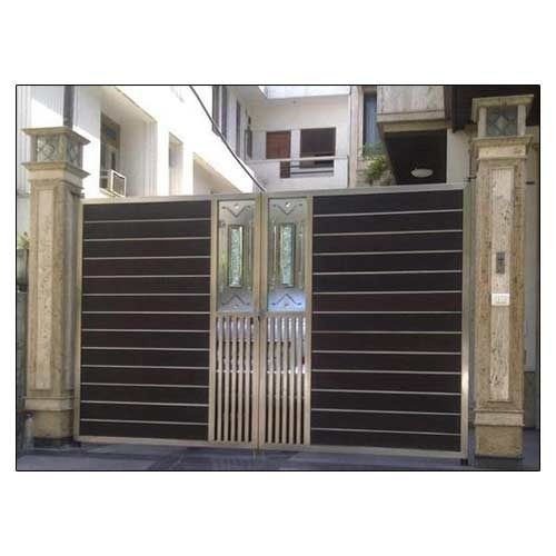 Stainless Steel Gate Stainless Steel Modern Gate