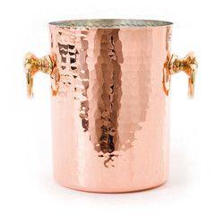 Copper Hammered Wine Ice Beer Bucket NJO-4868
