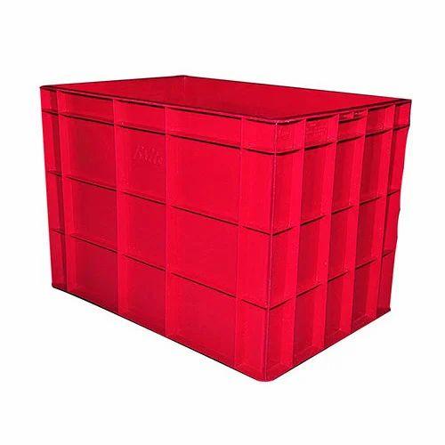 Plastic Red Crates
