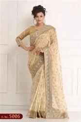 Fancy Hand Woven Saree