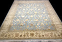 Handknotted Silk & Wool Carpet