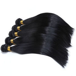 Silky Straight Weft Hair Extension