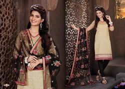 Designer Long Churidar Suits
