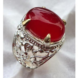 Akik Stone Ring