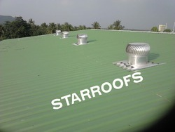Metal Roofing Sheds