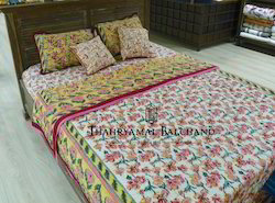 Jaipur Printed Bed Sheets with Quilts