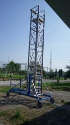 Aluminium Tilted Tower Ladder