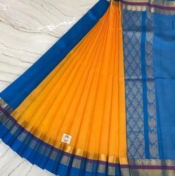 Silk Cotton Long & Shot Border Sarees