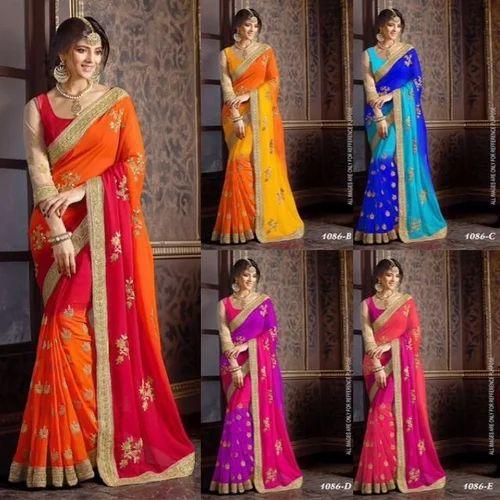 Georget designer sarees