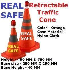 Retractable Traffic Cone